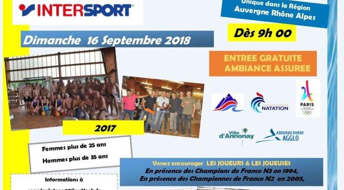 Saison 18/19 – 6  – Tournoi «Masters» water polo